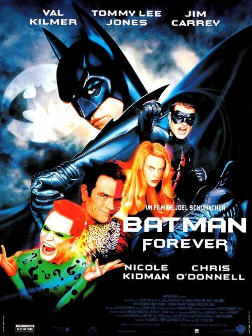 BATMAN FOREVER - BATMAN BOX OFFICE 1995