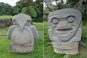 san augustin statues
