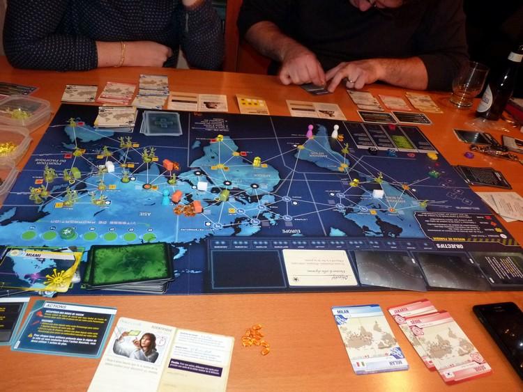 Pandémie Legacy (novembre)