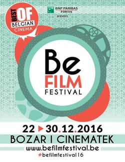 Affiche Be Film Festival 2016