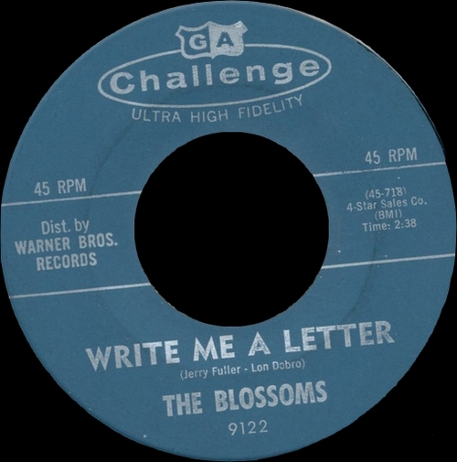 """The Blossoms:  CD"""" Saw-In-Law The Singles Years 1957-1970 """" SB Records DP 128 [ FR ]"""