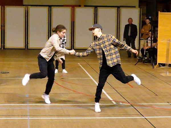 De très belles performances acrobatiques ont agrémenté la soirée des Lauriers du Sport 2020 à Châtillon sur Seine