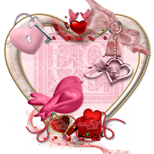 Les Clusters de MarieClo - Thème St Valentin