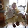 Lucie et son lapin
