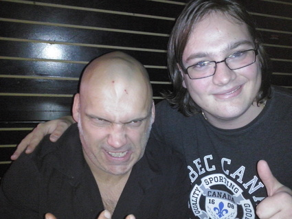 Blaze Bayley and me in Montreal in November 2013