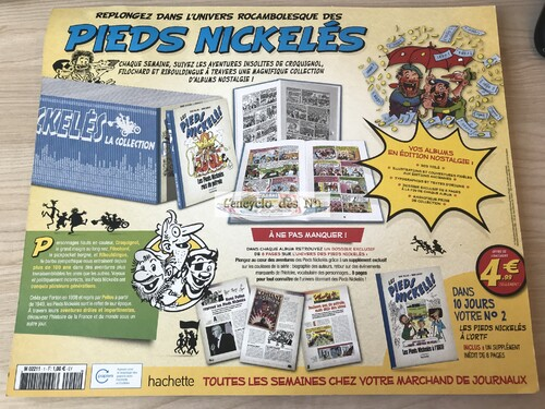 N° 1 Collection BD les pieds nickelés - Test