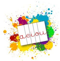 Lettres cursives pour atelier