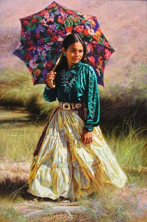 Peinture d'Alfrédo RODRIGUEZ