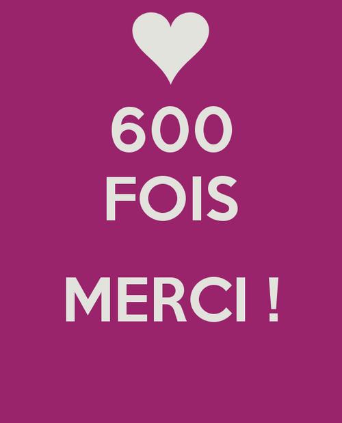 OMG!!!!!!!!!!!! 600 VISITEURS!!!!!!!!!!!!!!!!!!!!!!!!!