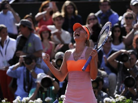 Sharapova, cette guerrière