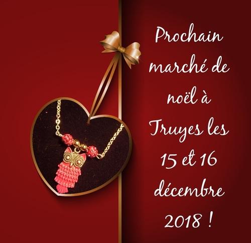 Marché de noël de St Georges/Cher le dimanche 9 décembre 2018