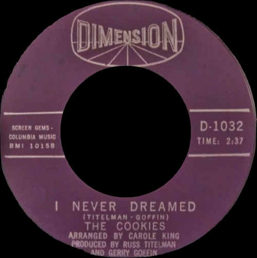 """The Cookies : CD """" The Complete Singles 1963-1967 """" Soul Bag Records DP 64 [FR]"""