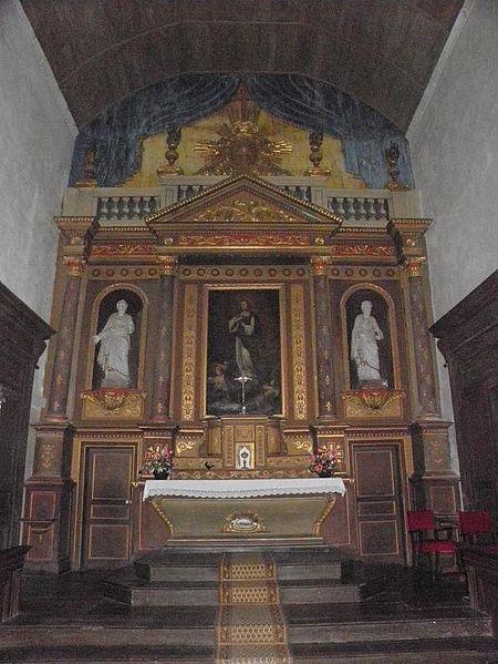 Le Tronchet : abbaye Notre-Dame du Tronchet