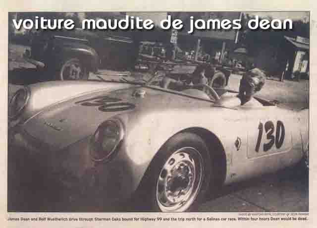 Paranormal:  La voiture maudite de James Dean