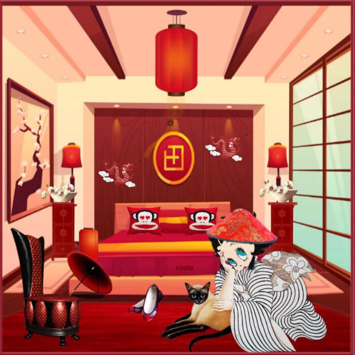 betty boop en Chine