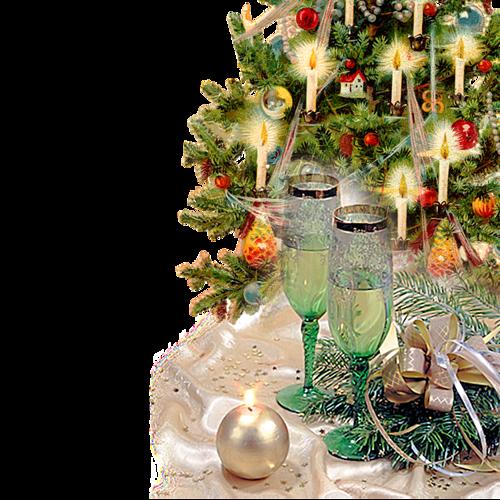 Bougies de Noël Série 10