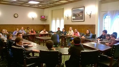 Nos CM2 au Parlement britannique