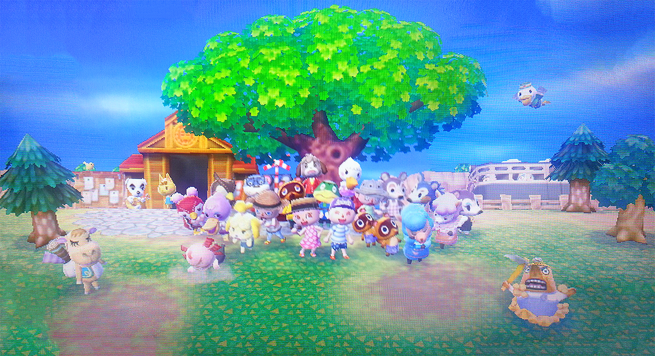 Puzzle ACNL Streetpass - Animal Crossing New Leaf