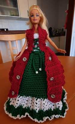 Robe barbie pour Noël (2)