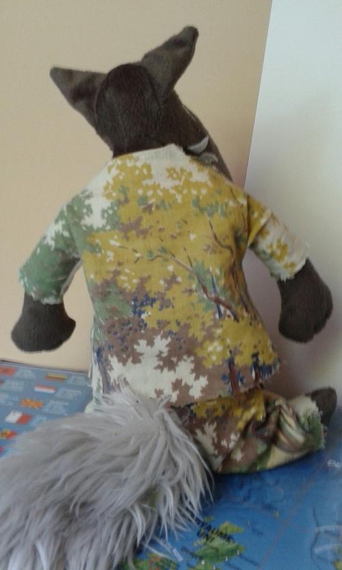 Haute couture pour le loup