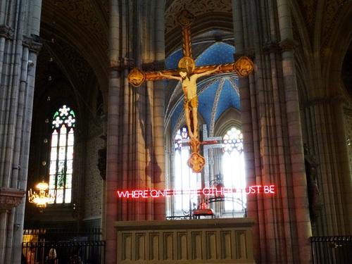 La superbe cathédrale d'Uppsala en Suède (photos)