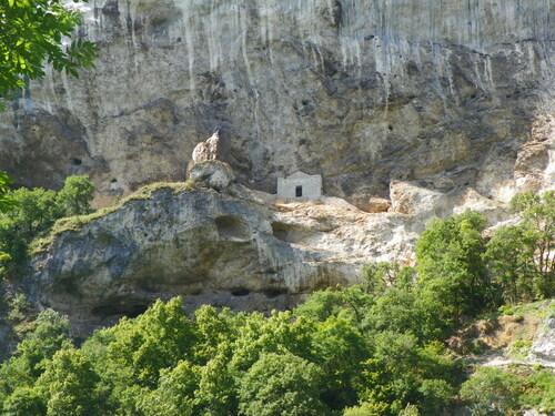 Le Rhône vu de La Balme
