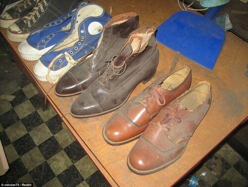 Ce magasin de chaussures a été fermé pendant 55 ans.