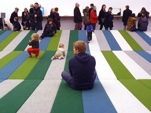 Textile fields Bouroullec Centre Pompidou-Metz 4 Marc de Me
