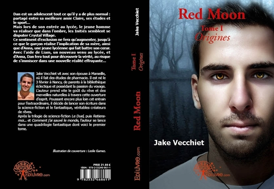 red moon - tome i origines couverture