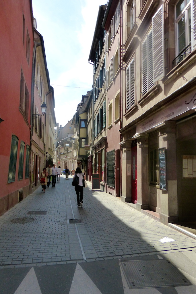 Strasbourg suite...en allant vers la Cathédrale.