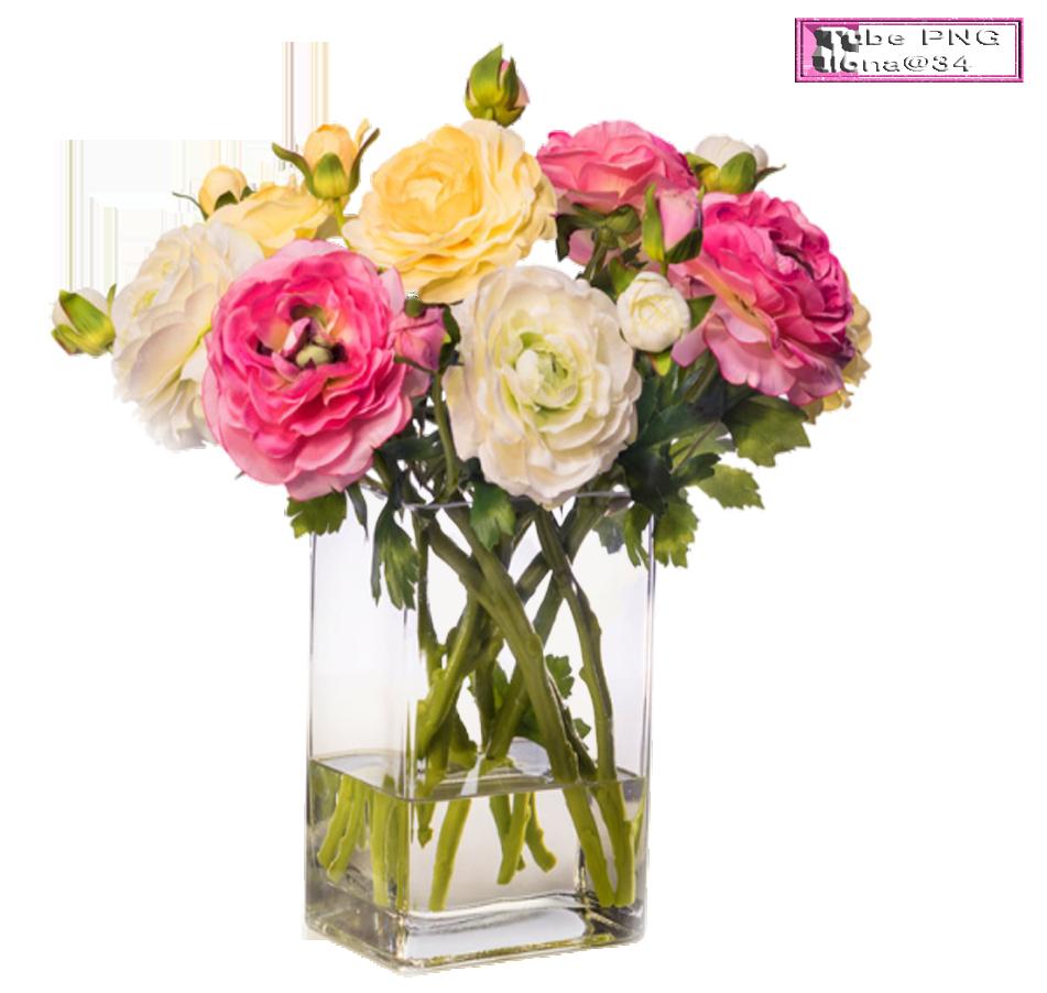 Tubes Vases de fleurs