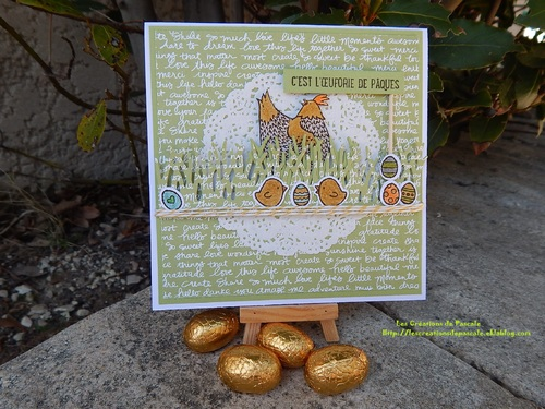 *C'est l'oeuforie de Pâques!