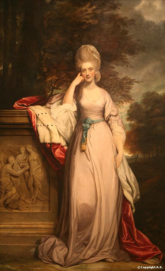 <b>Joshua Reynolds</b> : Anne, vicomtesse Townshend, devenue par la suite marquise Townshend