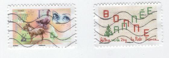 timbres bonne année 4