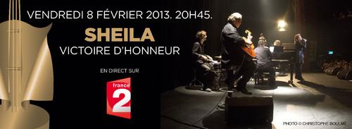 SHEILA CE SOIR SUR FRANCE 2...