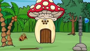Jouer à Mushroom forest house escape