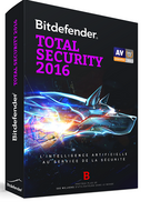 Bitdefender Total Security 2016 - Licence 1 an gratuit