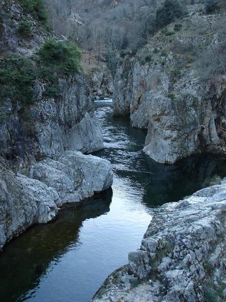 Ardèche: le pont du Diable