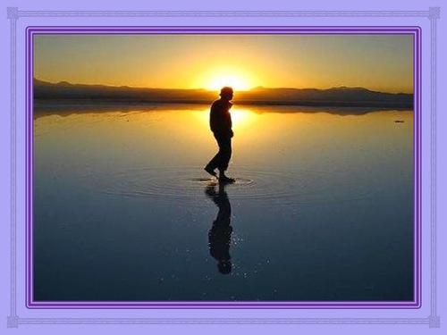 Marcher sur les eaux