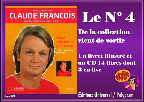 N° 3 / N° 4 DE LA COLLECTION OFFICIELLE