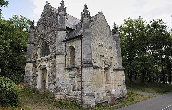 Cette chapelle du XVe siècle a des gargouilles en forme de Gremlins et de Goldorak