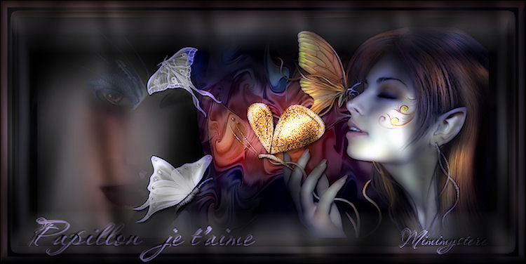 Papillon je t'aime
