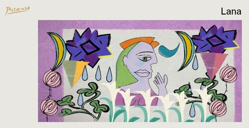 Picasso par Lana