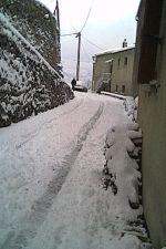 Sous la neige autrefois