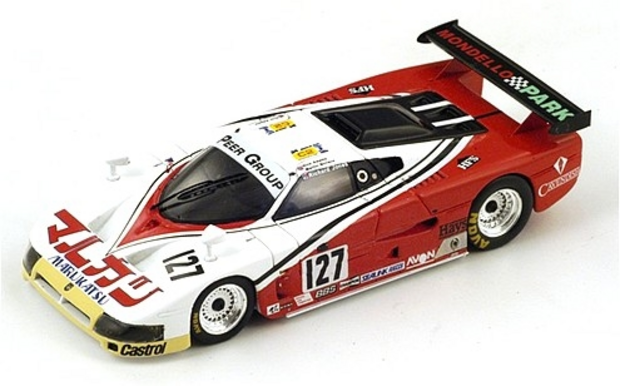 Le Mans 1988 Abandons