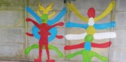 Peindre sur les murs