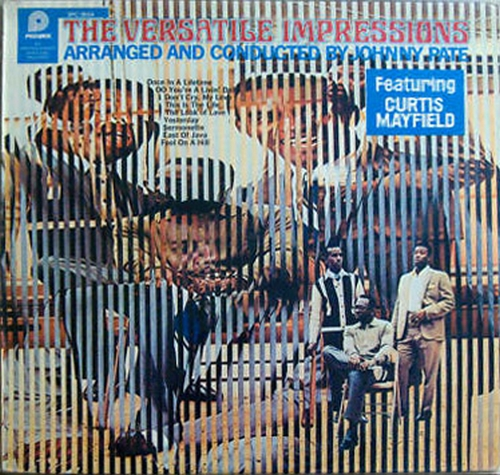 "1969 : Album "" The Versatile Impressions "" ABC Records ABCS 668 [ US ]"