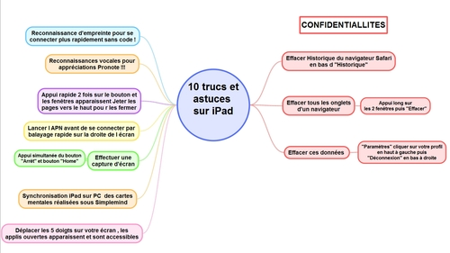 Application pédagogiques avec Ipad
