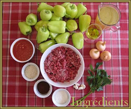 Poivrons farcis (recette croate)