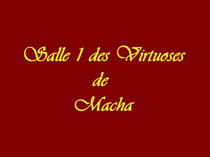 Salle des Virtuoses de Macha